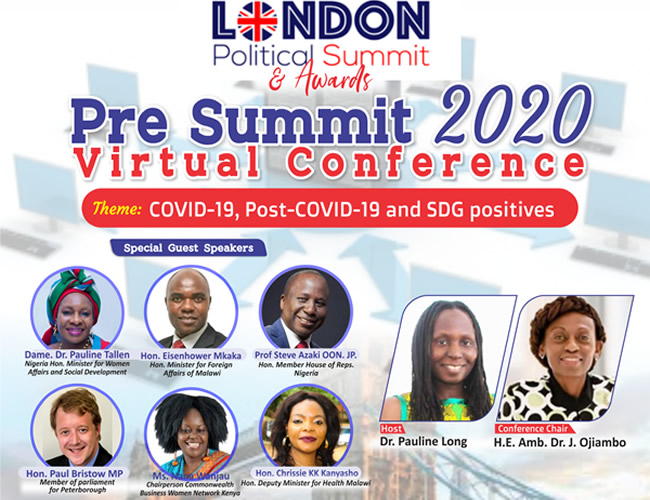 London Political Summit Kicks Off with Pre-Summit – July 21st – Malawi Minister of Foreign Affairs Hon Mkaka amongst Other Special Guest Speakers