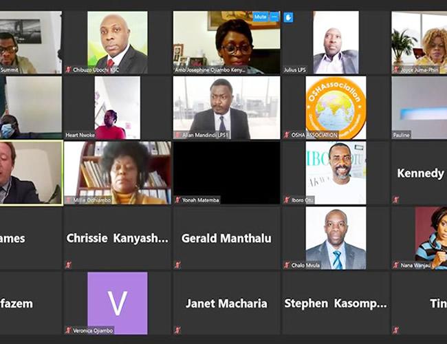 London Political Summit – Pre-Summit-Conference–Malawi Deputy Health Hon Chrissie Kanyasho Represented Malawi